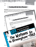 The Watsons Go to Birmingham - 1963 Studying the Story Elements (Great Works Series)