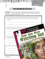 Their Eyes Were Watching God Close Reading and Text-Dependent Questions (Great Works Series)