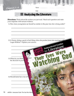 Their Eyes Were Watching God Leveled Comprehension Questions (Great Works Series)
