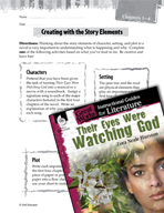 Their Eyes Were Watching God Studying the Story Elements (Great Works Series)