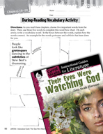 Their Eyes Were Watching God Vocabulary Activities (Great