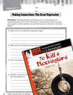To Kill a Mockingbird Making Cross-Curricular Connections