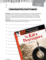 To Kill a Mockingbird Post-Reading Activities (Great Works Series)