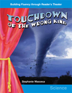 Touchdown of the Wrong Kind - Reader's Theater Script and Fluency Lesson