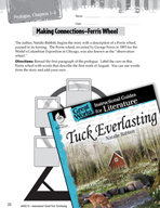 Tuck Everlasting Making Cross-Curricular Connections (Great Works Series)