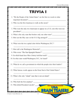 United States Critical Thinking Activities and Brain Teasers (Set 1)