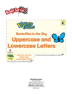 Uppercase and Lowercase Letters - Butterflies in the Sky Literacy Center