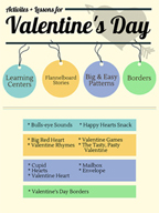 Valentine's Day Activities, Patterns, and Stories for Grades PK-2