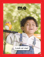 Vocabulary Concept Cards - Me and Friend