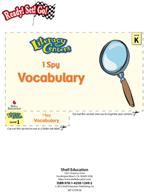 Vocabulary - I Spy Literacy Center