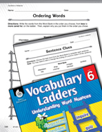 Vocabulary Ladder for Condition of Material
