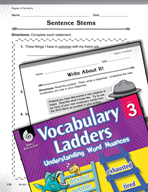 Vocabulary Ladder for Degree of Familiarity