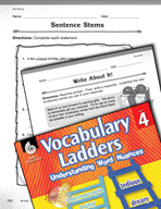 Vocabulary Ladder for Familiarity