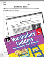 Vocabulary Ladder for Freedom