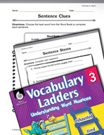 Vocabulary Ladder for Handling an Object