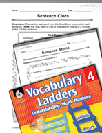 Vocabulary Ladder for Levels of Producing