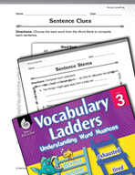 Vocabulary Ladder for Moving Something