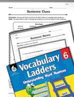 Vocabulary Ladder for Pride