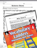 Vocabulary Ladder for Relationships