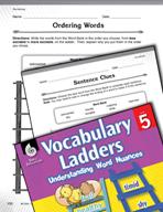 Vocabulary Ladder for Socializing