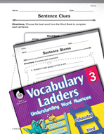 Vocabulary Ladder for Teasing