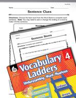 Vocabulary Ladder for Vocalizing