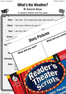 What's the Weather? Reader's Theater Script and Lesson