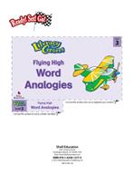 Word Analogies - Flying High Literacy Center