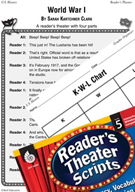 World War I Reader's Theater Script and Lesson