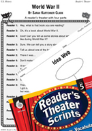 World War II Reader's Theater Script and Lesson