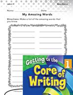 Writing Lesson Level 1 - Amazing Words