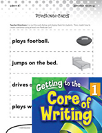 Writing Lesson Level 1 - Building Sentences Predicates