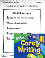 Writing Lesson Level 1 - Guidelines for Writer's Workshop