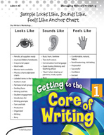 Writing Lesson Level 1 - Looks Like, Sounds Like, Feels Like
