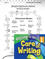 Writing Lesson Level 1 - My Writing Folder
