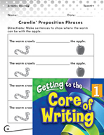 Writing Lesson Level 1 - Prepositional Phrases