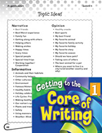 Writing Lesson Level 1 - Tell, Sketch, and Write Informative Text