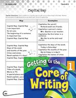 Writing Lesson Level 1 - The Capital Letter Rap