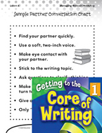 Writing Lesson Level 1 - Turn and Talk