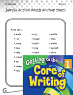 Writing Lesson Level 1 - Using Action Words