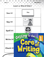 Writing Lesson Level 1 - Using High Frequency Words