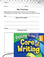Writing Lesson Level 1 - Using Your Senses to Tell Stories