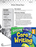 Writing Lesson Level 1 - Using Your Writing Voice