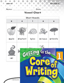 Writing Lesson Level 1 - Using the Vowel Chart