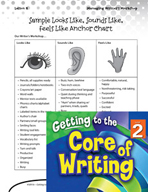 Writing Lesson Level 2 - Looks Like, Sounds Like, Feels Like