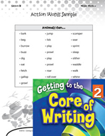 Writing Lesson Level 2 - More Action Words