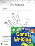 Writing Lesson Level 2 - Organizing Your Thinking with the Hand Plan