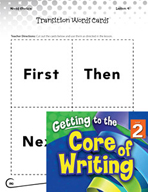 Writing Lesson Level 2 - Transition Words