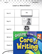 Writing Lesson Level 2 - Using High-Frequency Words