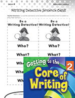 Writing Lesson Level 2 - Using Questions to Build Sentences